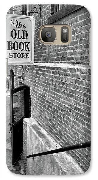Galaxy Case featuring the photograph The Old Book Store by Karol Livote