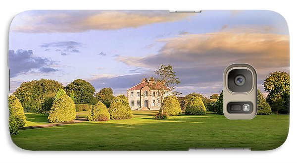Galaxy Case featuring the photograph The Old Country House by Roy McPeak