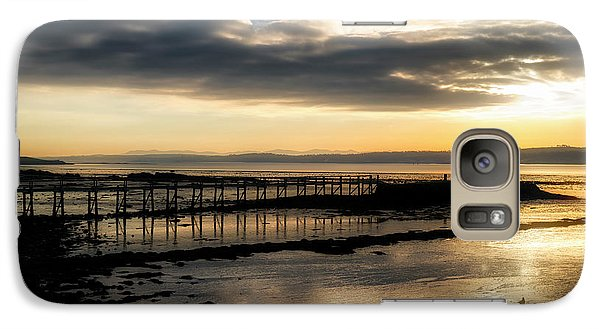The Old Pier In Culross, Scotland Galaxy S7 Case