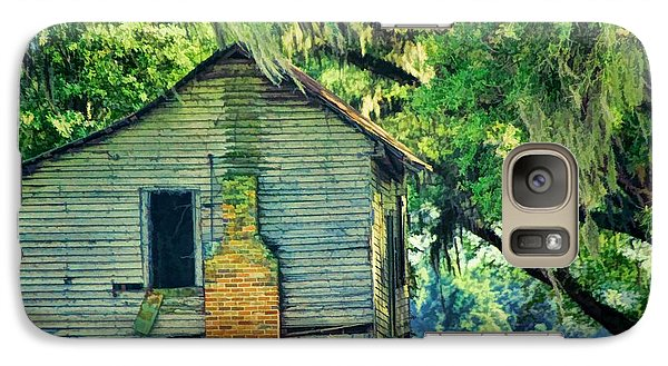 Galaxy Case featuring the photograph The Old Slaves Quarters by Jan Amiss Photography