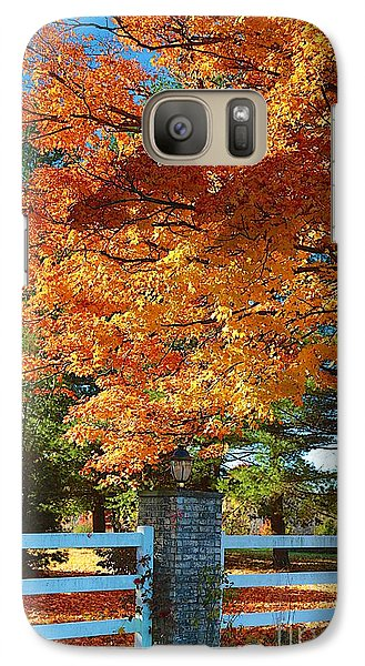 Galaxy Case featuring the photograph The Old Yard Light by Robert Pearson