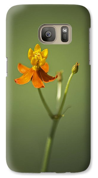 The One - Asclepias Curassavica - Butterfly Milkweed Galaxy Case by Johan Hakansson