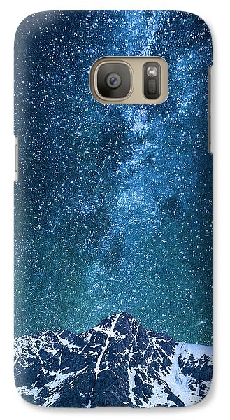 Galaxy Case featuring the photograph The One Who Holds The Stars by Aaron Spong