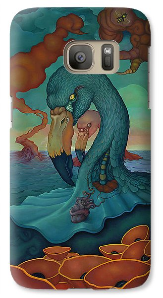 Galaxy Case featuring the painting The Only Thing That Will Have Mattered by Andrew Batcheller