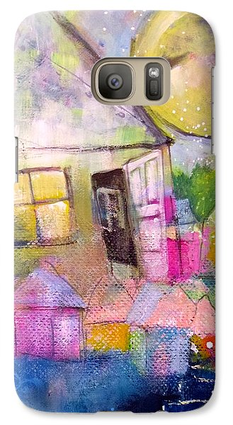 Galaxy Case featuring the painting The Open Door by Eleatta Diver
