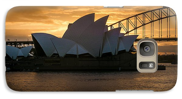 Galaxy Case featuring the photograph The Opera House by Andrew Matwijec