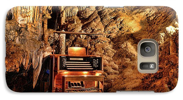 Galaxy Case featuring the photograph The Organ In Luray Caverns by Paul Ward