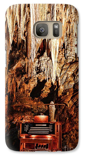 Galaxy Case featuring the photograph The Organ In The Cavern by Paul Ward