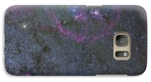 Galaxy Case featuring the photograph The Orion Complex by Charles Warren