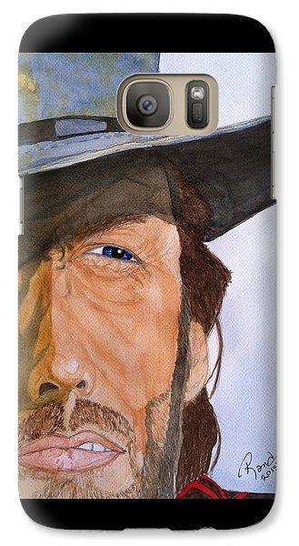Galaxy Case featuring the painting The Outlaw Josey Wales by Rand Swift