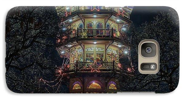 The Pagoda At Christmas Galaxy S7 Case
