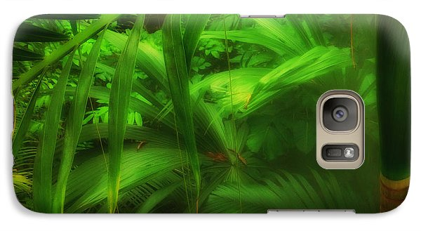 Galaxy Case featuring the photograph The Palm Forest  by Connie Handscomb