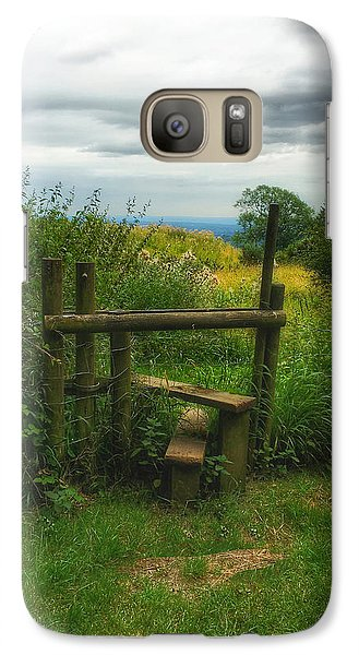 Galaxy Case featuring the photograph The Path Most Traveled  by Connie Handscomb