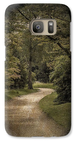 Galaxy Case featuring the photograph The Path by Ryan Photography