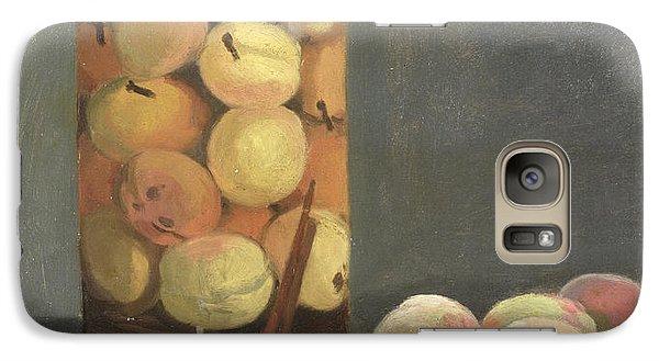 The Peach Glass Galaxy S7 Case by Claude Monet