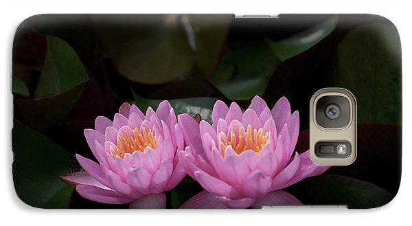 Galaxy Case featuring the photograph The Perfect Couple by Andrea Silies