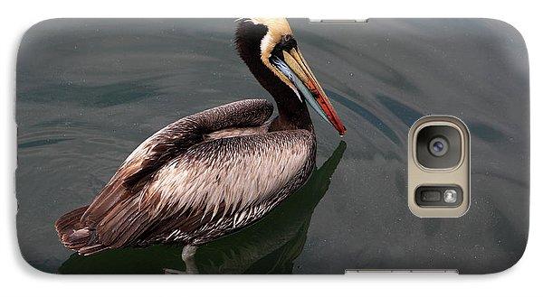Galaxy Case featuring the photograph The Peruvian Pelican #2 by Aidan Moran