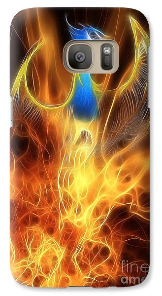 The Phoenix Rises From The Ashes Galaxy S7 Case