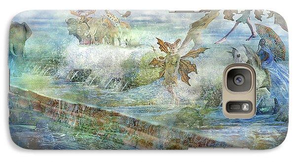 Kangaroo Galaxy S7 Case - The Piano  by Betsy Knapp