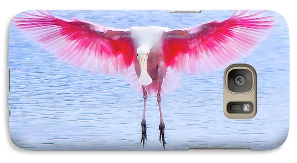 The Pink Angel Galaxy S7 Case by Mark Andrew Thomas
