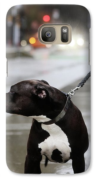 Galaxy Case featuring the photograph The Pits Of Curbs  by Empty Wall