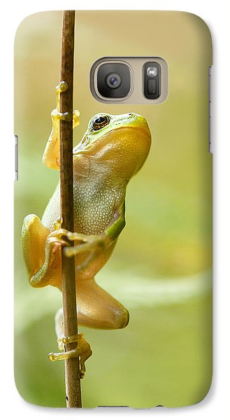 The Pole Dancer - Climbing Tree Frog  Galaxy S7 Case