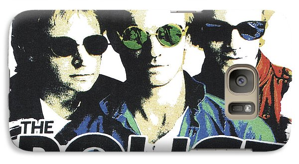 Galaxy Case featuring the digital art The Police by Gina Dsgn