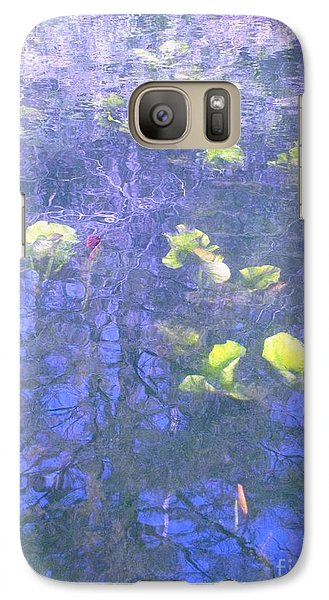 Galaxy Case featuring the photograph The Pond 1 by Melissa Stoudt