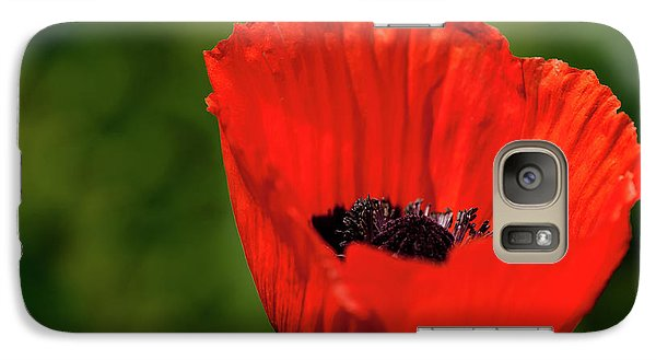 The Poppy Next Door Galaxy S7 Case by Onyonet  Photo Studios