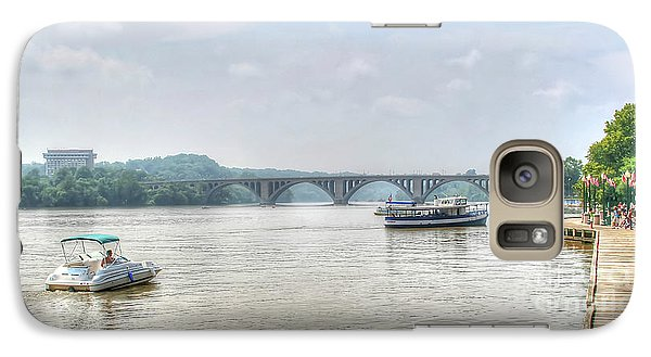Galaxy Case featuring the photograph The Potomac by Adrian LaRoque