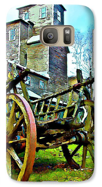 Galaxy Case featuring the photograph The Pottery - Bennington, Vt by Tom Cameron