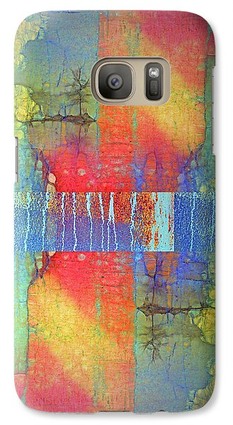Galaxy Case featuring the digital art The Power Of Colour by Tara Turner