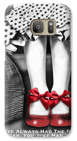Wizard Galaxy S7 Case - The Power by Patti Parish