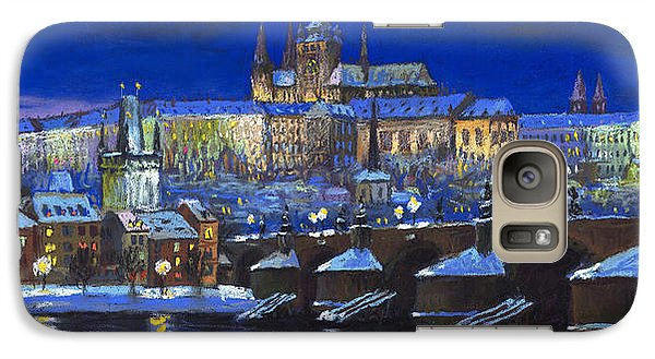 Castle Galaxy S7 Case - The Prague Panorama by Yuriy Shevchuk