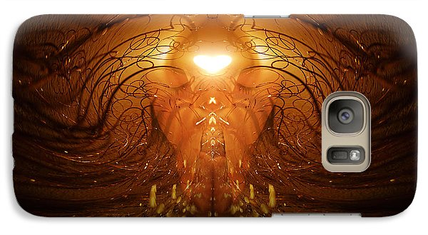 Galaxy Case featuring the photograph The Prayer by Jalai Lama
