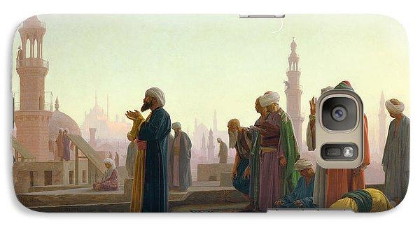 Religion Galaxy S7 Case - The Prayer by Jean Leon Gerome