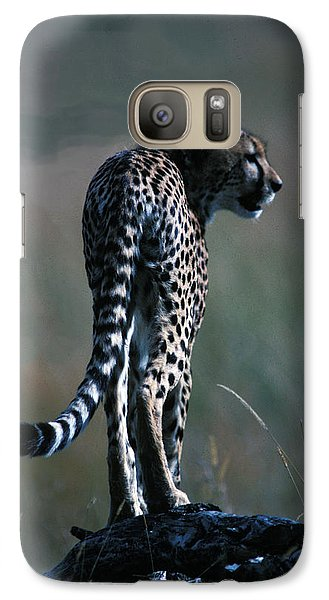 Galaxy Case featuring the photograph The Predator by Carl Purcell