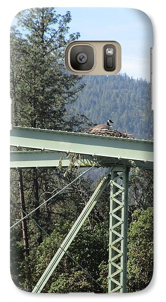 Galaxy Case featuring the photograph The Pretender by Marie Neder