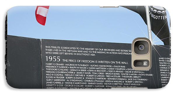 Galaxy Case featuring the digital art The Price Of Freedom by Gary Baird