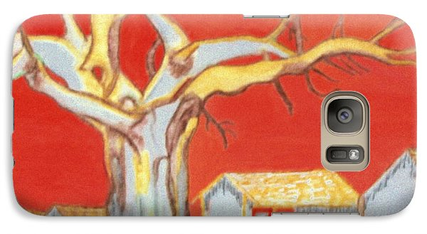 Galaxy Case featuring the painting The Pride Of The Village by Connie Valasco