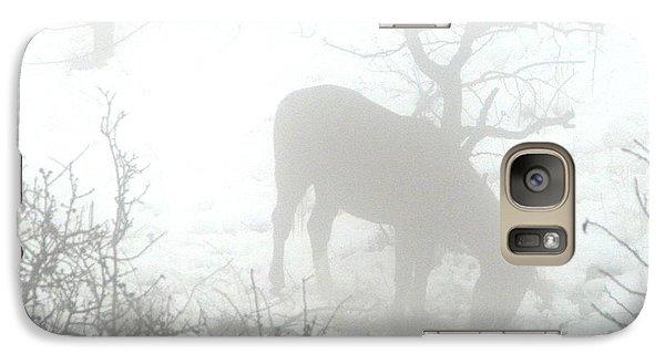 Galaxy Case featuring the photograph The Primal Mist by Annemeet Hasidi- van der Leij