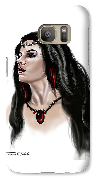 Galaxy Case featuring the painting The Princess Morgana by James Christopher Hill