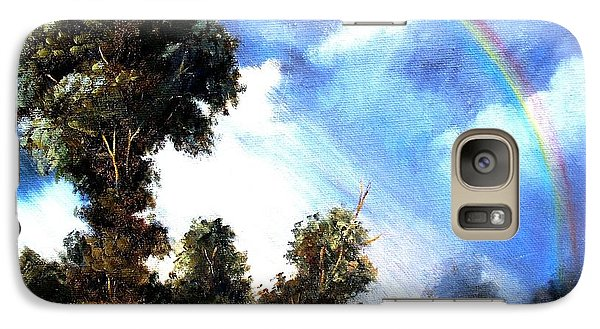 Galaxy Case featuring the painting The Promise  by Hazel Holland