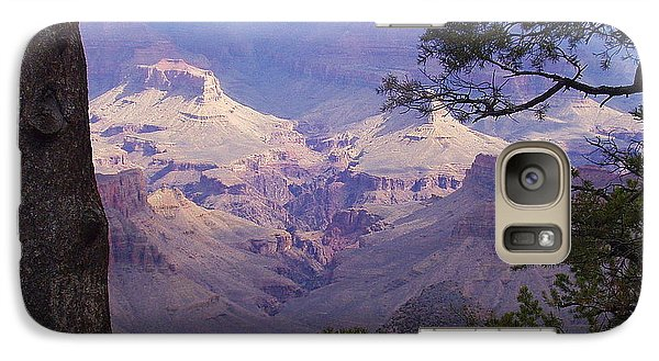 Galaxy Case featuring the photograph The Purple Grand by Marna Edwards Flavell