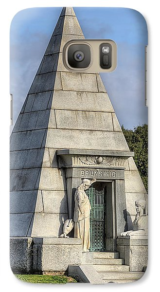 Galaxy S7 Case featuring the photograph The Pyramid In Metairie Cemetery by JC Findley