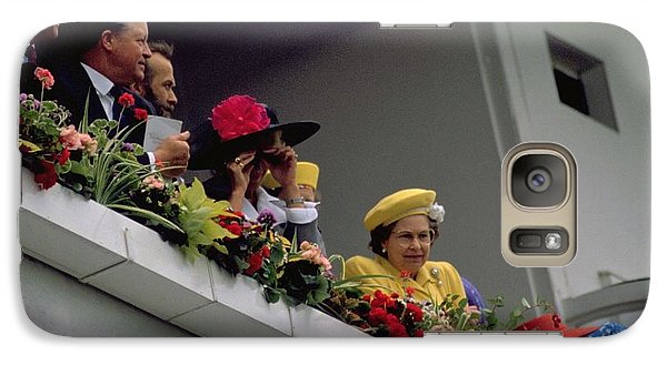 The Queen At Derby Day 1988 Galaxy S7 Case