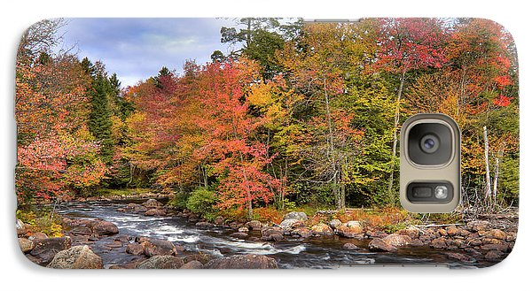 Galaxy Case featuring the photograph The Rapids On The Moose River by David Patterson