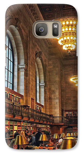 Galaxy Case featuring the photograph The Reading Room by Jessica Jenney
