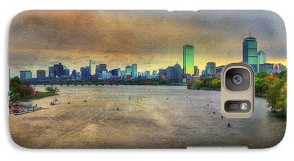 Galaxy Case featuring the photograph The Regatta - Head Of The Charles - Boston by Joann Vitali