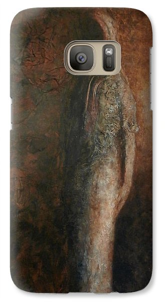 Galaxy Case featuring the painting The Return by Buck Buchheister